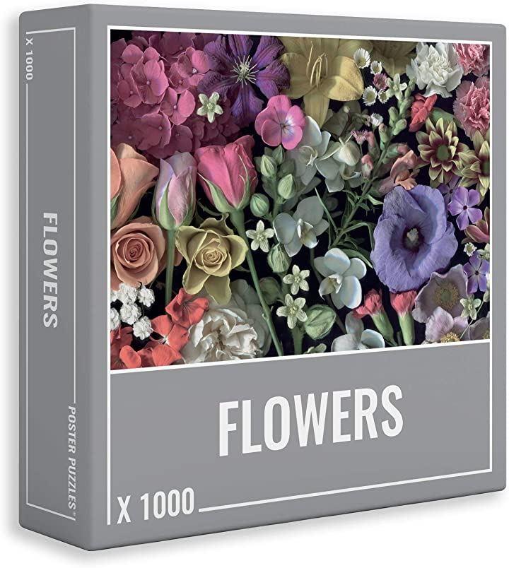 クラウドベリーズ 花 ジグソー パズル   大人のための美しい フラワー ジグソーパズル 1000 ピース(マルチカラー, 68x48.5cm)