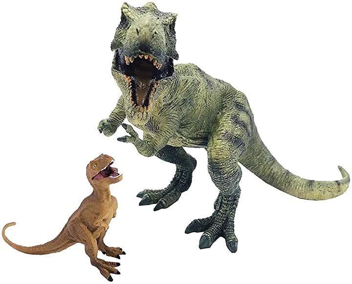 ティラノサウルス 2点セット 恐竜フィギュア 子供 怪獣 おもちゃ