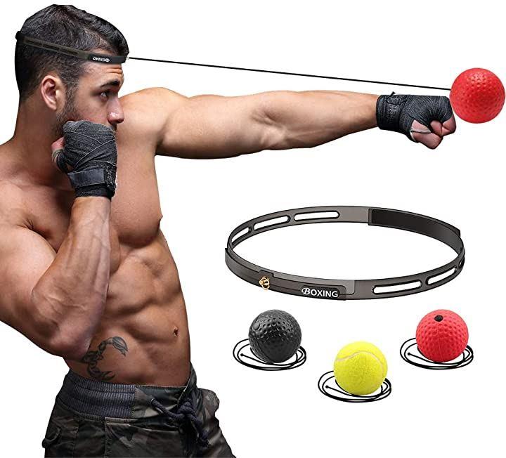 ボクシングボール パンチングボール 格闘技 打撃練習 軽量 練習用ボール 3個