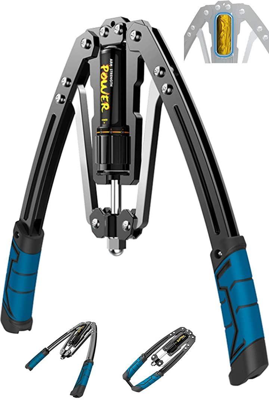 大胸筋トレーニング器具 アームバー エキスパンダー 2021年最新版 油圧式 グリップ 上腕二頭筋 手首 三角筋 背筋