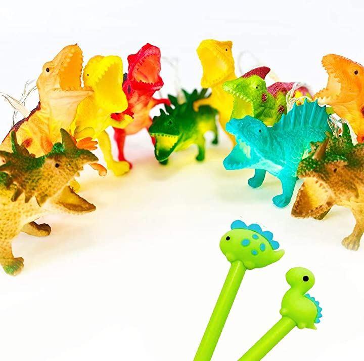 恐竜 おもちゃ ガーランド ライト 子供部屋 キャンプ 誕生日 クリスマス 装飾