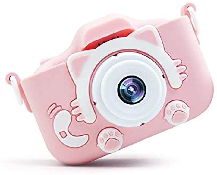 子供用 デジタルカメラ トイカメラ 2000万画素 2インチ IPS画面 子供プレゼント 日本語説明書付き 操作簡単