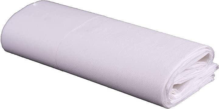 使い捨てベッドシート 防水 防油 不織布 美容院マッサージ 旅行 マットレス 産後 介護用 100枚入 幅80cmx長さ180cm(幅80cmx長さ180cm)