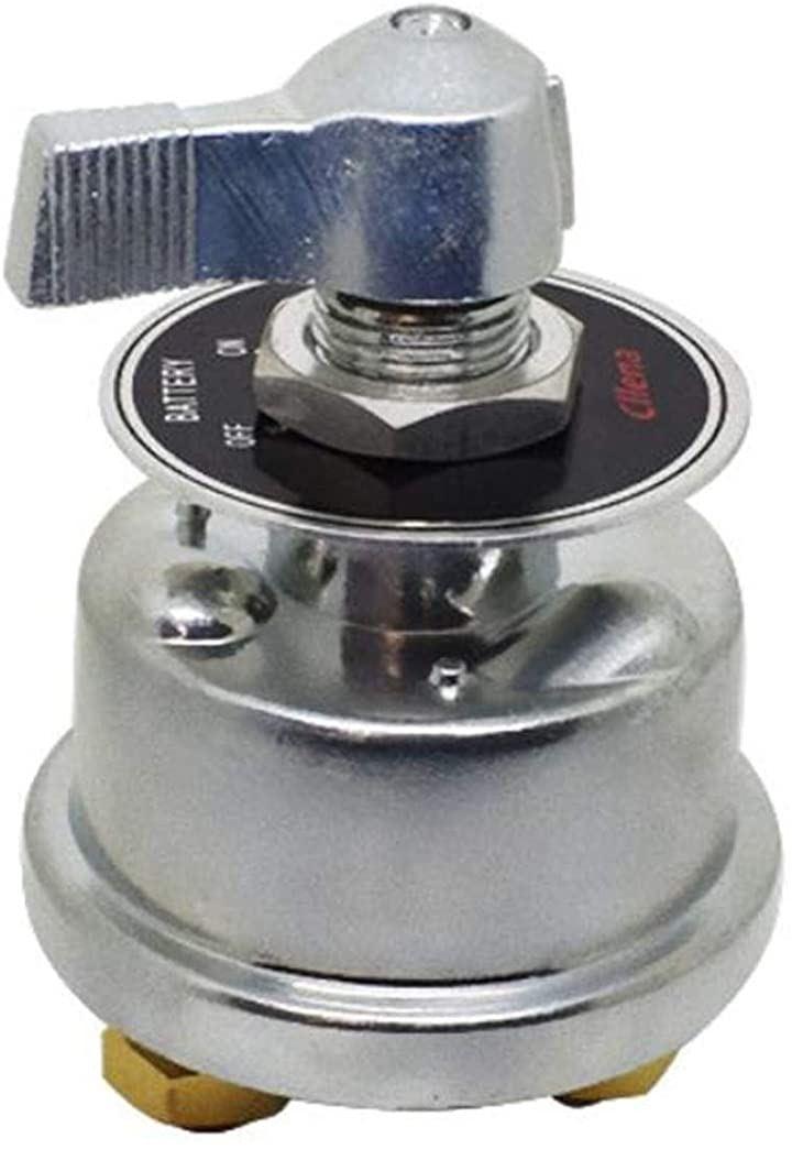 12V~24V 切断スイッチ マスターバッテリー切断 バッテリーパワーカット RV車 ボート用 トラック アルミニウムハウジング 電源オフ/オンスイッチ